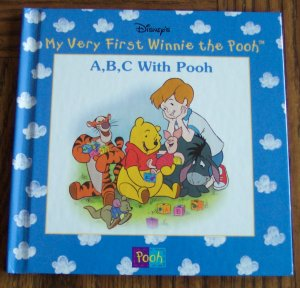 Disney My Very First Winnie The Pooh A B C WITH POOH Children's Storybook