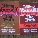 TELLING YOURSELF THE TRUTH Plus Study Guide William Backus Self Help