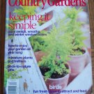 Country Home COUNTRY GARDENS Holiday 1999 Back Issue Magazine Gardening Flowers Plants