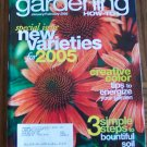 GARDENING How To January February 2005 Back Issue Magazine Creative Color Tips