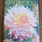 New GARDENING How To January February 2002 Back Issue Magazine Sundail Garden Furnishings