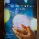 That Night In Texas Eve Gaddy Harlequin Superromance  Romance Novel