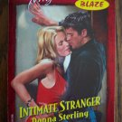 Intimate Stranger Donna Sterling Temptation BLAZE Harlequin Romance 803 October 2000