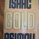 Isaac Asimov Gold Science Fiction Sci-Fi Paperback Novel