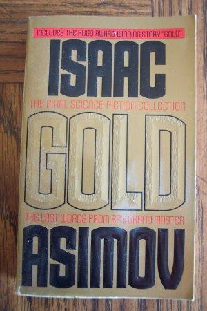 Isaac Asimov Gold Science Fiction Sci-Fi Paperback Novel