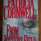 Patricia Cornwell FROM POTTER'S FIELD Mystery Suspense Paperback Novel
