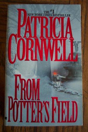 Patricia Cornwell FROM POTTER'S FIELD Mystery Suspense Paperback Novel