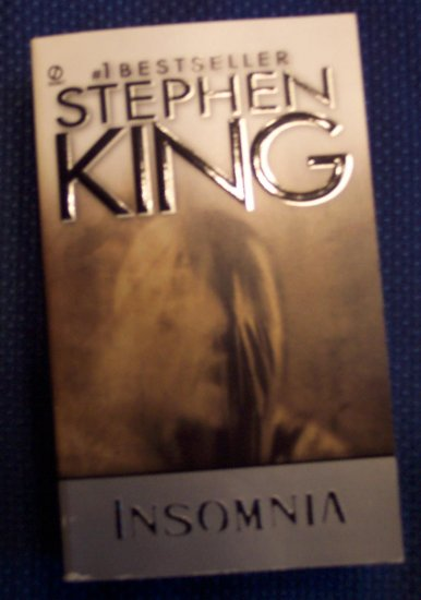 Stephen King INSOMNIA Mystery Novel Signet Fiction Books