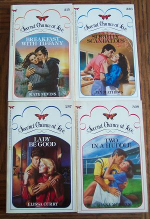 Second Chance At Love Series 4 Book Set Romance Paperback