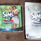 The Sims 2 University Expansion Pack With Booklet EA Games Software Windows location143