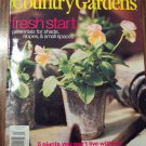 Country Home COUNTRY GARDENS March 2000 Back Issue Magazine Gardening Flowers Plants