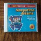 Baby Genius Sleepytime Dreams Instrumental Series ~ Music CD