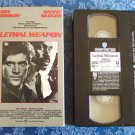 Lethal Weapon Warner Home Video Danny Glover Mel Gibson VHS Video Tape