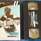 TAEBO II Get Ripped Basic Workout 2 ~ Tae Bo Fitness Vhs Tape Video