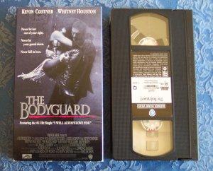 The Bodyguard Kevin Costner Whitney Houston Action Drama Romance Vhs Tape Video