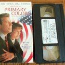 Primary Colors John Travolta Emma Thompson He Was Born To Run Drama Family Comedy VHS Movie 2M