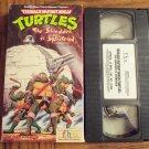 Teenage Mutant Ninja Turtles The Shredder Is Splintered Vhs Tape Video 1M