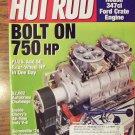 Hot Rod July 2002 Bolt On 750 HP Back Issue Magazine 1M