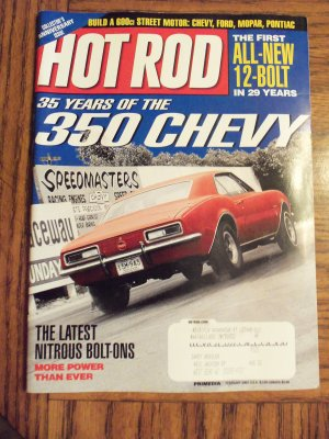 Hot Rod February 2002 Collector's Anniversary Issue Back Issue Magazine1M