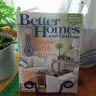 BETTER HOMES AND GARDENS September 2007 Back Issue Decorating Home Magazine location50