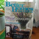BETTER HOMES AND GARDENS September 2000 Back Issue Decorating Home Magazine location50