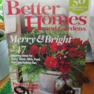 BETTER HOMES AND GARDENS December 2007 Back Issue Decorating Home Magazine location50