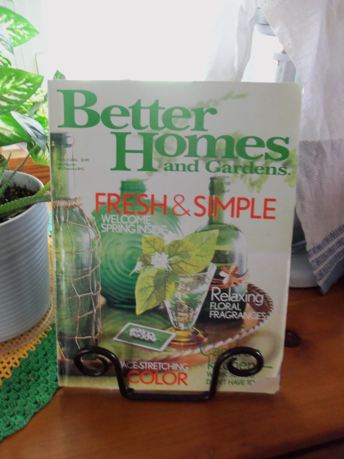 Better Homes And Gardens March 2004 Kitchens Back Issue