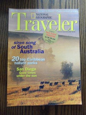 National Geographic Traveler January February 1998 Back Issue locationO1