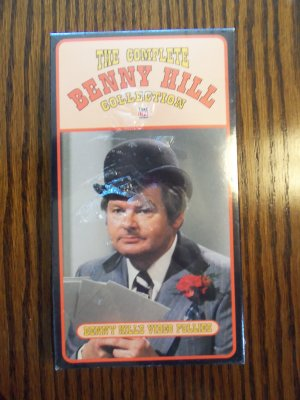 The Complete Benny Hill Collection Benny's Video Follies Comedy VHS LocationO1
