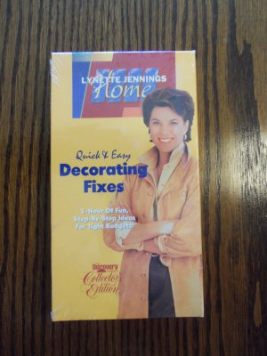 Lynette Jennings Home Quick & Easy Decorating Fixes Instructional VHS LocationO1