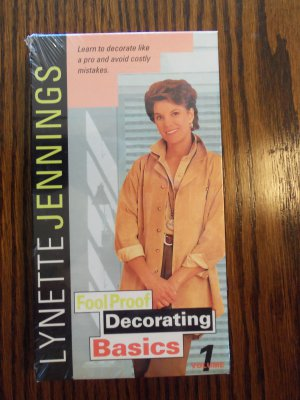 Lynette Jennings Fool Proof Decorating Basics Volume 1 Instructional VHS LocationO1