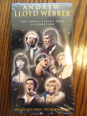 Andrew Lloyd Webber The Royal Albert Hall Celebration Music VHS LocationO1