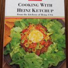 Cooking With Heinz Ketchup Cookbook Hardcover locationO2