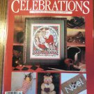 Leisure Arts Premier Issue Celebrations To Cross Stitch and Craft Back Issue Christmas locationM10