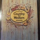 Vintage 1983 The Reader's Digest Country and Western Songbook locationB22