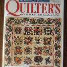 Quilter's Newsletter Magazine July/August 2001 No. 334 Back Issue locationM10