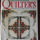 Quilter's Newsletter Magazine December 2001 No. 338 Back Issue locationM10