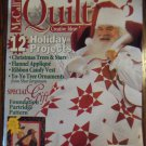 McCall's Quilting Vol. 3 No. 6 November 1996 Back Issue locationM10