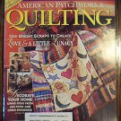 American Patchwork & Quilting February 1997 Vol. 5 No. 1 Issue 24 Back Issue locationM10