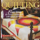 American Patchwork & Quilting October 1994 Vol.2 No. 5 Issue 10 Back Issue locationM10