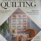 American Patchwork & Quilting August 1993 Issue 3 Back Issue loc14