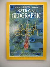 National Geographic January 1999 Volume 195 Number 1 Back Issue location32