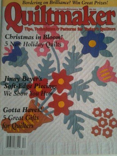 Quiltmaker Magazine November December 1998 No 64 Back Issue location32