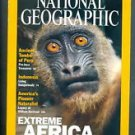 National Geographic March 2001 Volume 199 Number 2 Back Issue location32