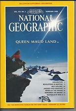 National Geographic With Pullout Poster February 1998 Volume 193 Number 2 Back Issue location32