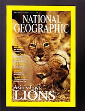 National Geographic June 2001 Volume 199 Number 6 Back Issue location32