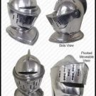 Medieval Knight's Helmet - FULL SIZE ARMOR