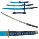 3pc OCEAN BLUE KATANA SET