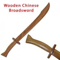 Wood Practice Chinese Broadsword