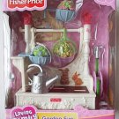 Fisher Price loving family GARDEN FUN dollhouse NEW